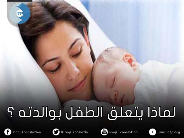 لماذا يتعلق الطفل بوالدته؟ (تجربة هالو)