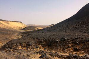 الصحراء السوداء في الاردن
