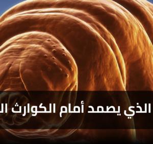 """دبّ الماء """"Tardigrades"""": كائن مجهري على كوكب الأرض، يصمد أمام الكوارث الكونية"""