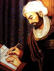 الفيلسوف والطبيب الفارسي أبن سينا